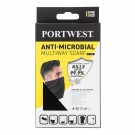 5 stk Portwest CS25 Anti-Microbial flerbrukskjerf/hals, sort thumbnail
